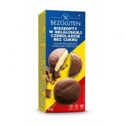 Biscuiti cu ciocolata belgiana fara gluten, fara zahar
