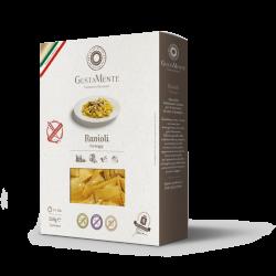 Paste fainoase Ravioli cu branza Gorgonzola dulce, Pecorino Romano DOP si Parmigiano Reggiano DOP, fara gluten - GUSTAMENTE