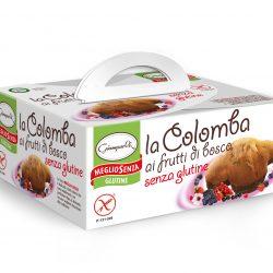 """Cozonac fara gluten """"Colomba"""" cu fructe de padure"""